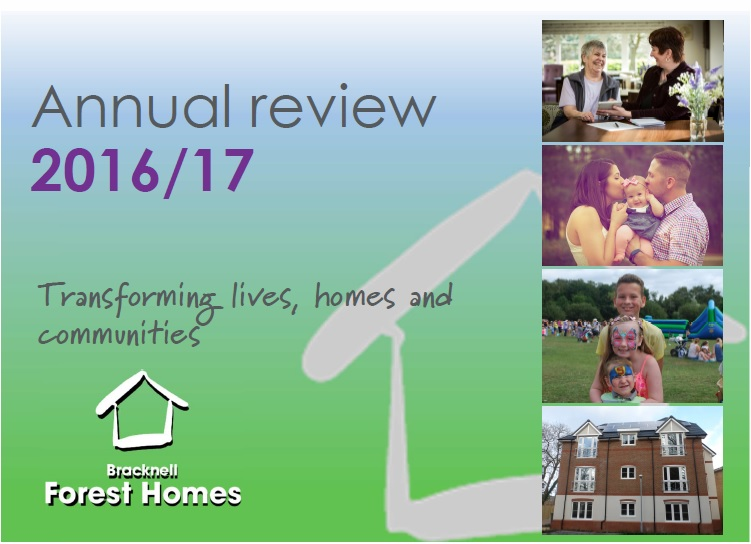 Customer annual review 2016/17 cover image