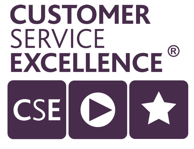 Customer service excellence accreditation logo