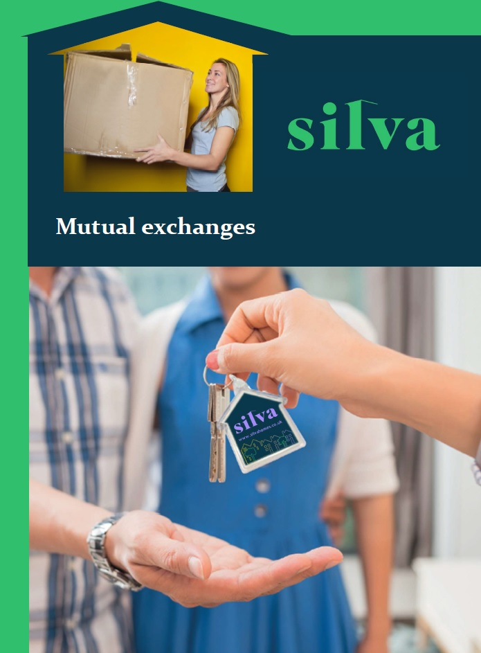 Mutual exchange leaflet cover