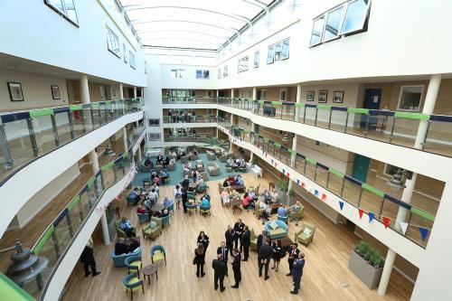 Clement House atrium