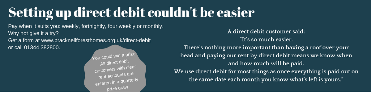 Direct debit information